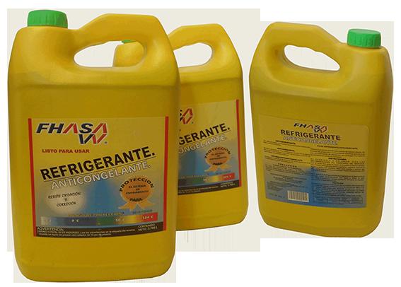 Anticongelante / Refrigerante